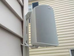 how to mount speakers to vinyl siding