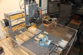 Bench Top Mill Cnc Router Benchtop Mill 3d Model Cgtrader