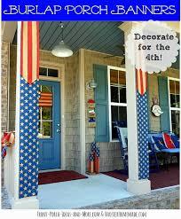 Patriotic Home Decorations Patriotic Outdoor Decorations 10 Fun Ideas