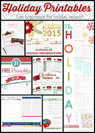 fall inspired crafts and bonus free printable holiday planners at