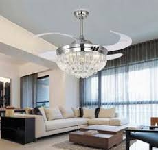 Fan With Chandelier Light Acrylic Crystal Chandelier Type Ceiling Fan Light Kit Fan Light