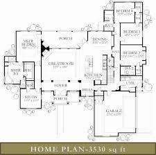 basement home floor plans 3500 4000 sq ft homes glazier house plans with walkout basement 3