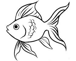 good blank fish template 59 gallery coloring ideas blank