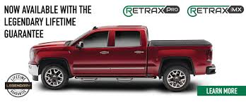 Ford Raptor Bed Cover - retrax the sturdy stylish way to keep your gear secure and dry