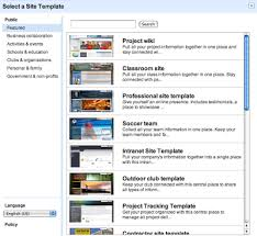 create a page google page templates mary fran u0027s getting started