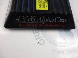 18484a3 mercruiser alpha 4 3l v6 stern drive carb carburetor cover
