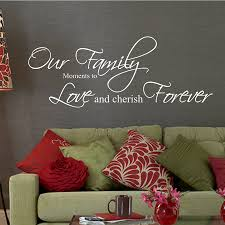 our family moments quote wall stickers by parkins interiors our family moments quote wall stickers