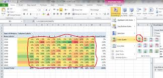 Excel Pivot Table Template The Easiest Back Testing Of Trading Strategies Ms Excel Pivot