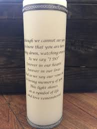 Wedding Memorial Wedding Memorial Candle Remembrance Candle Unity Candle