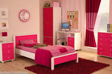 Pink Girls Bedroom Girls Bedroom Furniture Set Ebay