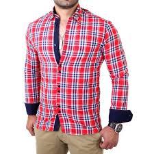 design hemd reslad herren hemd tartan karo design günstig kaufen