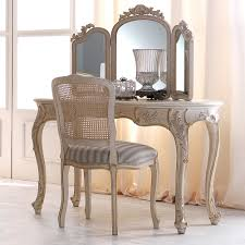 reproduction rococo italian designer dressing table set