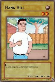 Magic Card Meme - king of the hill meme hank magic card on bingememe