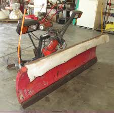 western 6 5 u0027 uni mount snow plow item ae9367 sold octob