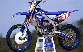 factory motocross bikes yamaha u0027s 2018 yzf450 gets electric start motohead