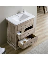 Rustic Bath Vanities Incredible Deal On Infurniture 30 Inch Single Sink Rustic Bathroom
