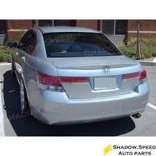 2010 honda accord parts 08 12 painted oe style rear trunk brs roof spoiler for honda