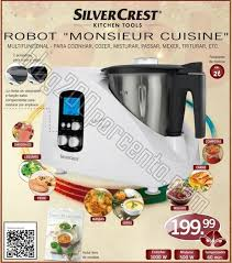 silvercrest cuisine novidade maquina cozinha lidl silver crest monsieur cuisine