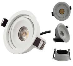 commercial led can lights led recessed downlight up down light 7w cob citizen chip for