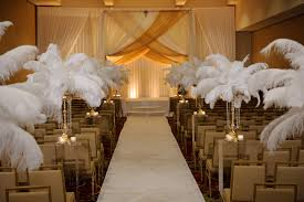 great gatsby themed wedding aisle decorations for indoor weddings fresh a great gatsby themed