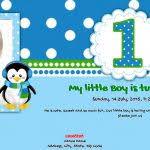 e invitations for 1st birthday free 1st birthday invitation card
