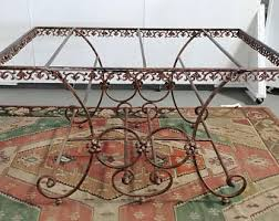 Iron Table Ls Cast Iron Table Etsy