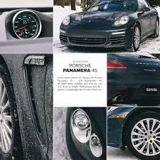 porsche winter review porsche panamera 4s in the snow gear patrol