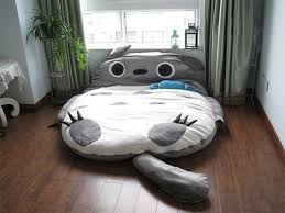 unpick and wash beanbag cartoon bed totoro mattress double