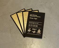 foil stamped business cards halo design studios