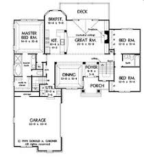 bungalow floor plans with walkout basement rambler house plans with basements traditional rambler home plan