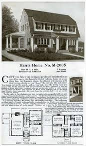 colonial revival house plans the puritan colonial revival sears catalog homes