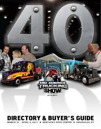 2011 mid america trucking show directory u0026 buyer u0027s guide by mid