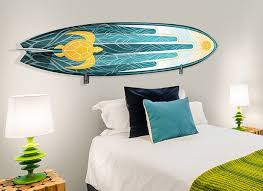 surfboard wall art home decorations unique 10 surfboard wall decor design inspiration of awesome