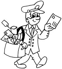 postman pat coloring picture julian clifton postman pat postman