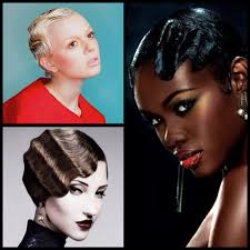 pixie hair cuts on wetset hair short hair styling for summertime lacquered finger waves stylenoted
