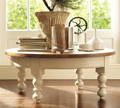 interior toby round coffee table espresso heron round coffee