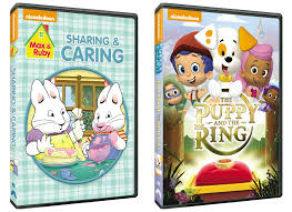 max u0026 ruby sharing u0026 caring dvd bubble guppies the puppy and the