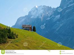 Houses In The Hills Small House On The Hill Royalty Free Stock Photo Image 9121855