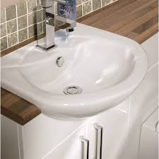 Elation Bathroom Furniture April Elation Elation Fitted Furniture Basin 505 X 415 White