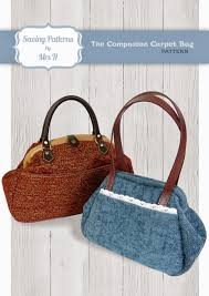mrs h the blog the companion carpet bag sewing pattern