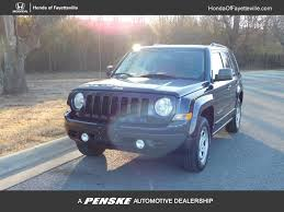 used jeep patriot 2016 used jeep patriot 4wd 4dr sport at honda of fayetteville