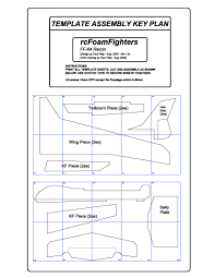 rc plane plans and templates rcfoamfighters com blog