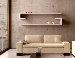 Modern Wall Bookshelves Colorful Modern Wall Shelves Designs On The White Wall Can Add The