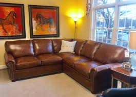 Classic Leather Sofa by Classic Leather Mccall Sectional Curriers Leather Furniture