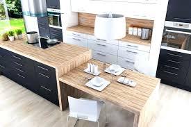 cuisine ikea blanche et bois table de cuisine blanche et bois great with a manger palette but