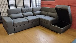 Sofa Bed Sectional Abby Sleeper Sectional Gray By Primo