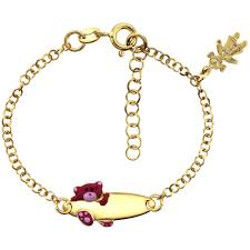 fine jewelry charm bracelet images Baby children 39 s jewelry jpg