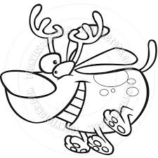 innovative rudolph face coloring minimalist article