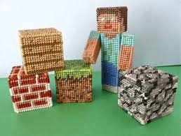minecraft ribbon 7 patterns for you to make with plastic canvas needle work