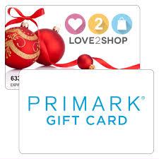 150 love2shop card primark card combi offer park christmas